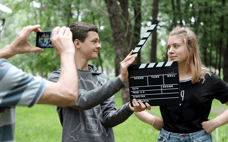 Filmmaking and Scriptwriting for Teens Bray
